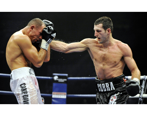 Britain's Froch fights with Germany's