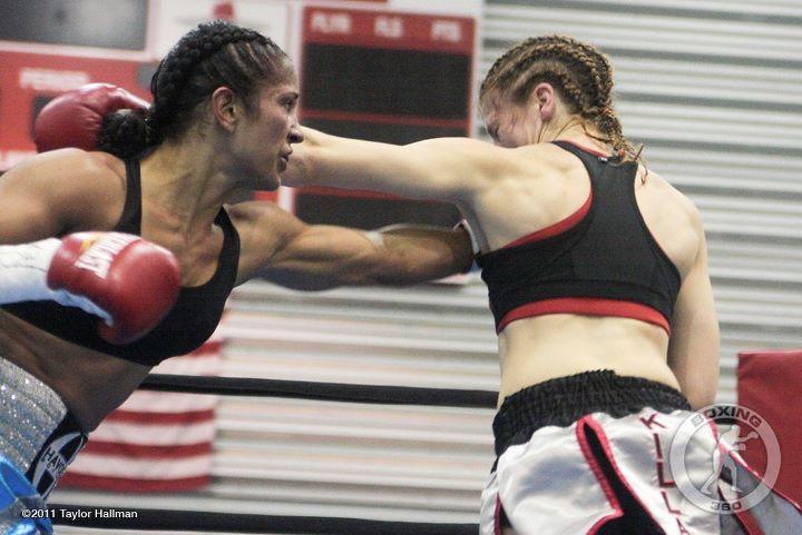Amanda Serrano KO begins