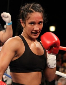 IBF Super Featherweight Champion Amanda Serrano, photo courtesy of PrimeraHora.com
