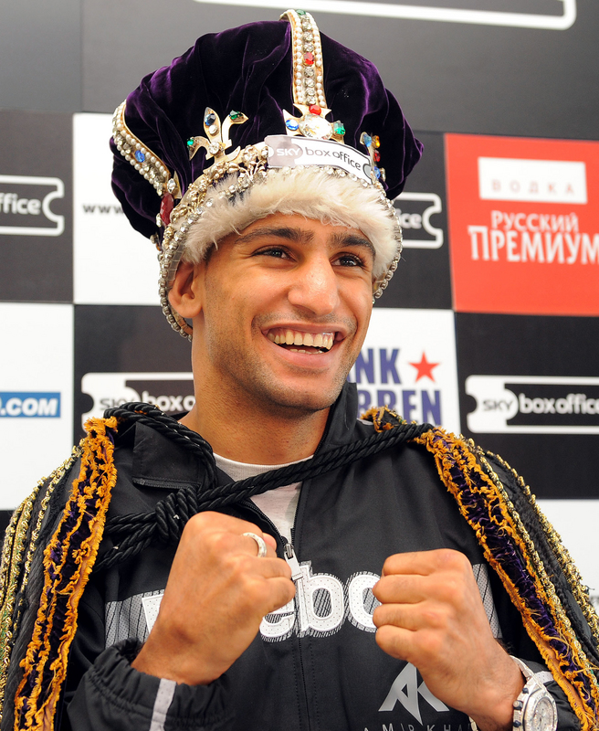 """Amir """"King"""" Khan"""
