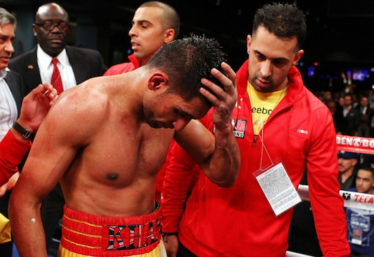 A deflated Amir Khan