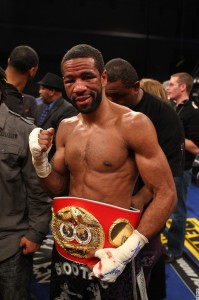 WBA and IBF 140 lb champ Lamont Peterson