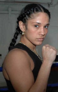 IBF Super featherweight Champion Amanda Serrano