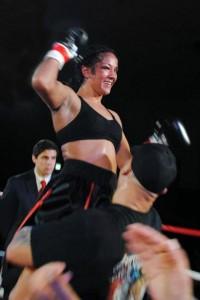 IBF Super Featherweight champ Amanda Serrano