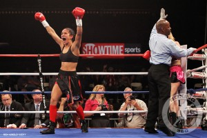 "AMANDA SERRANO ""I WANT THE KNOCKOUT"""
