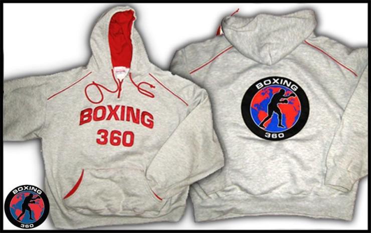 Boxing 360 Logo Hoodie