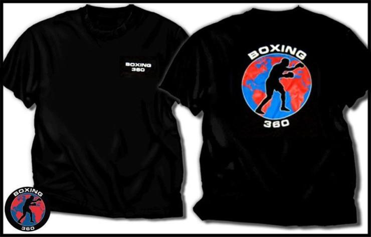 Boxing 360 Logo T-Shirt