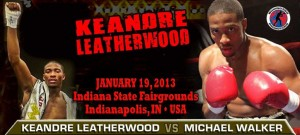 KEANDRE LEATHERWOOD  RETURNS JAN 19TH AT THE INDIANA STATE FAIRGROUNDS