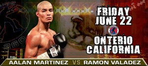 Aalan Martinez Ready To Shine  Against Valadez