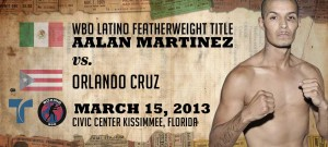 AALAN MARTINEZ FOCUSED ON DEFEATING CRUZ