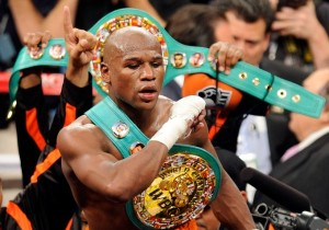 Floyd Mayweather's to fight Robert Guerrero