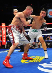 JOEL DIAZ JR. SCORES 5TH ROUND TKO IN HOUSTON, TEXAS