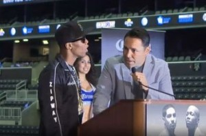video  Zab Judah crashes own press conference!