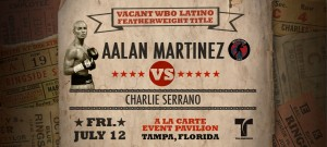 Aalan Martinez vs Charlie Serrano 7-12-2013