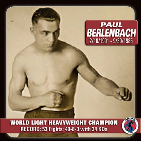 June 10 Paul Berlenbach