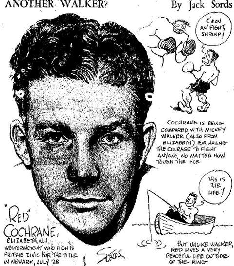 Freddie Cochrane Cartoon