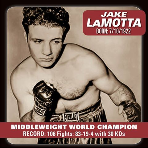 Jake LaMotta born Giacobe LaMotta