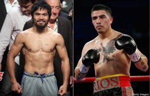 Pacquiao and Rios debate Mayweather