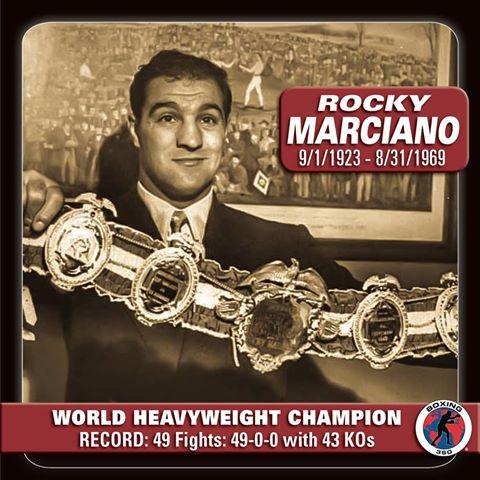 Rocky Marciano Wins World Heavyweight Title