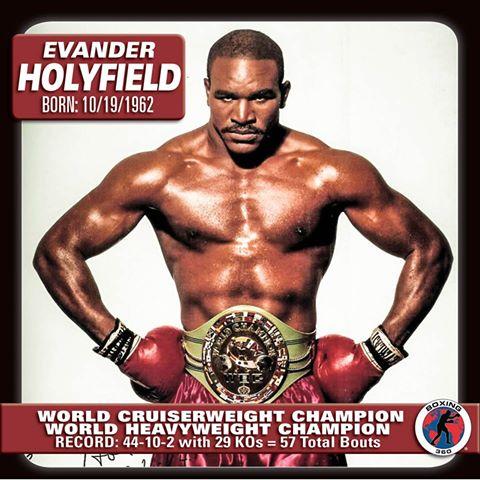 Evander Holyfield Regains World Heavyweight Title