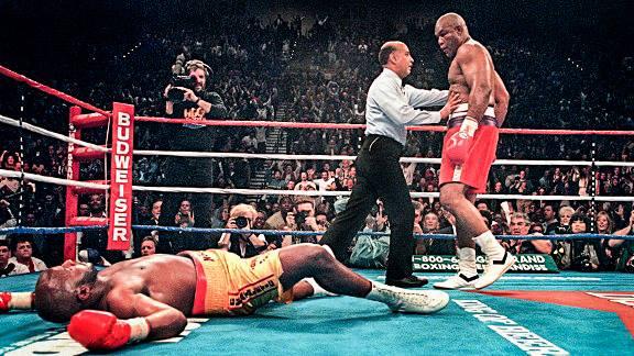 George Foreman KO 10 Michael Moorer