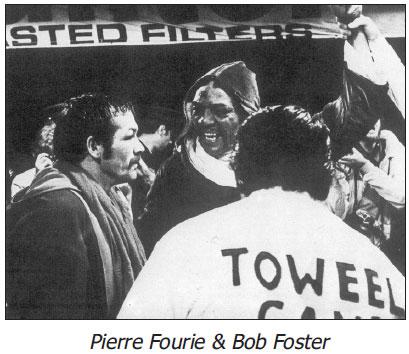 Bob Foster W 15 Pierr Fourie