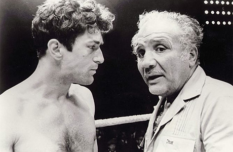 Robert De Niro and Jake LaMotta