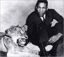 William  Jones and his lions