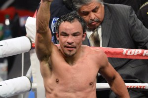 JUAN MANUEL MARQUEZ MIGHT RETURN HOME