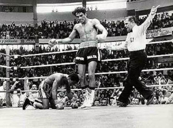 Roberto Durán ring
