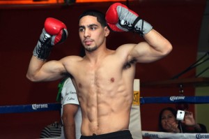 Danny Garcia Does his Part Last Saturday Night