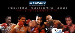 Steiner Sports is bringing together boxing legends