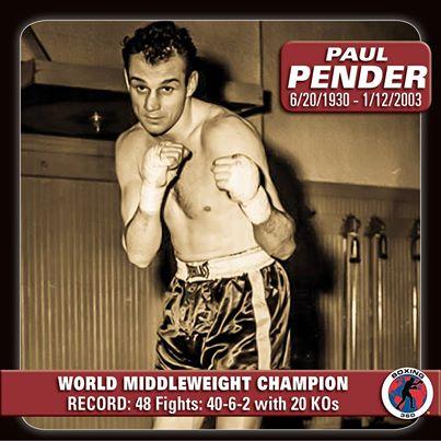 Paul Pender