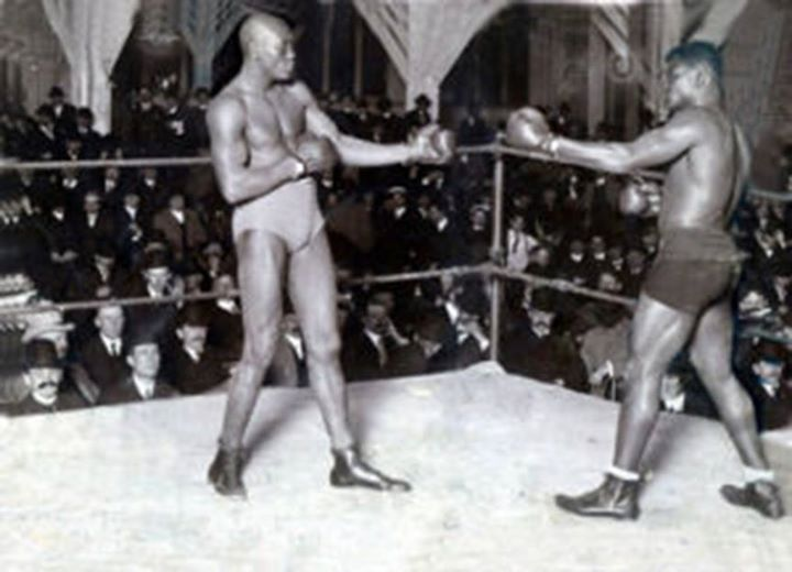 Sam McVey vs. Jack Johnson