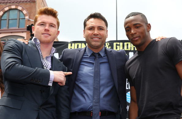 Canelo Alvarez v Erislandy Lara Press Tour