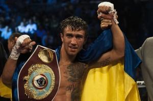 Lomachenko on boxing's biggest stage
