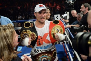 Kovalev in the Spotlight Saturday