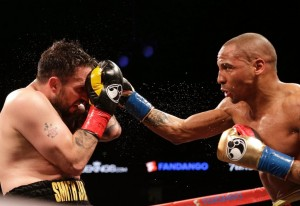 Andre Ward picks up where he left off