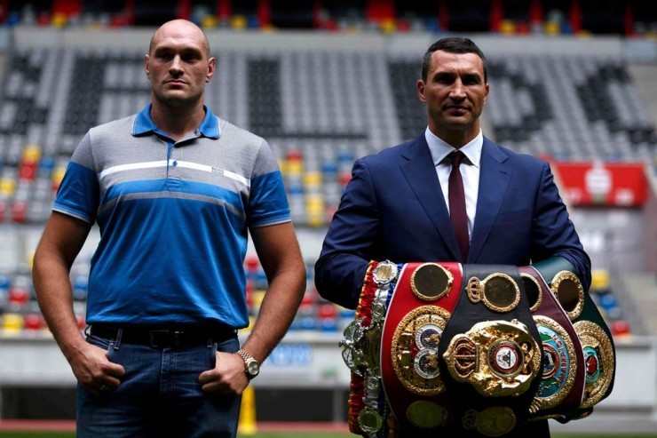 Wladimir Klitschko Vs. Tyson Fury Finally